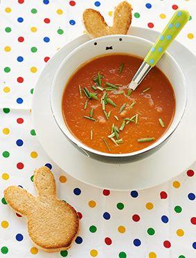 Miffy carrot tomato soup