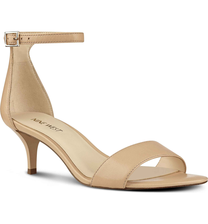 153eadc719a Main Image - Nine West  Leisa  Ankle Strap Sandal (Women)