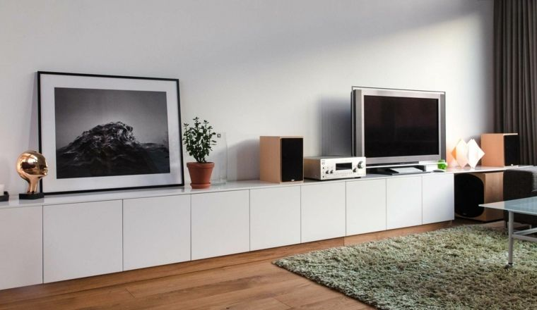 ikea meubles tv id es de meubles fabriquer soi m me mylivingroom pinterest meuble tv. Black Bedroom Furniture Sets. Home Design Ideas