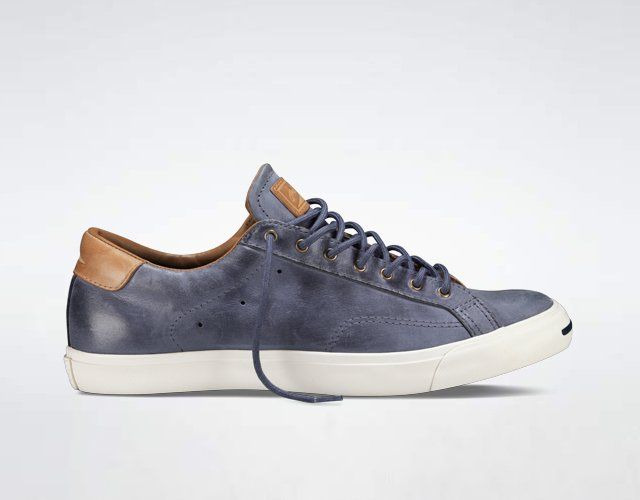 74611174c206b9 Converse Jack Purcell Peter Sneakers Premium smooth leather with matching  laces gives the Jack Purcell sneaker a sophisticated play.