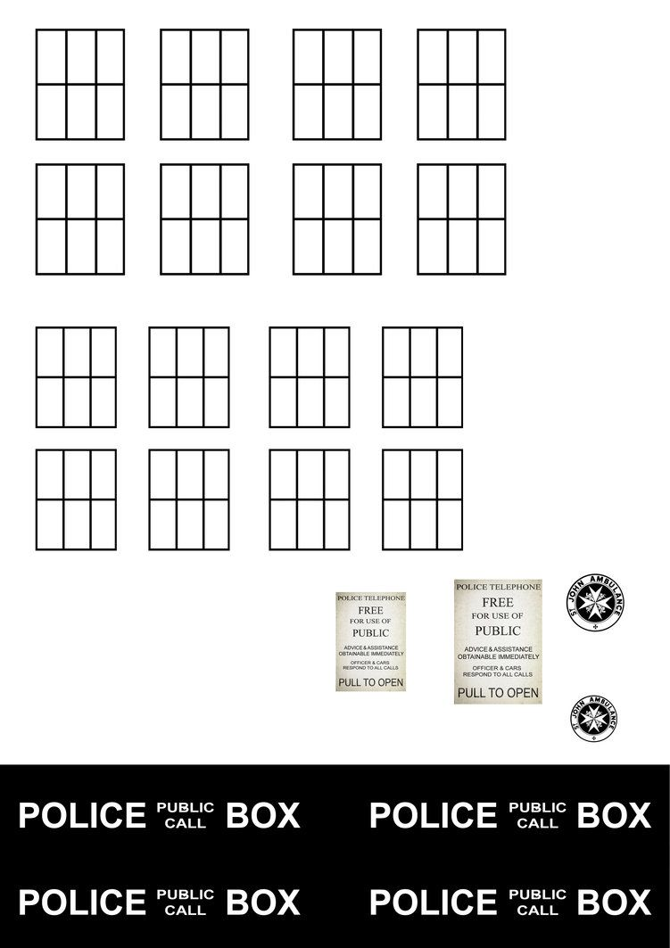 Grease Monkey Garage >> Tardis Templates by For-Certain on deviantART | Doctor who ...