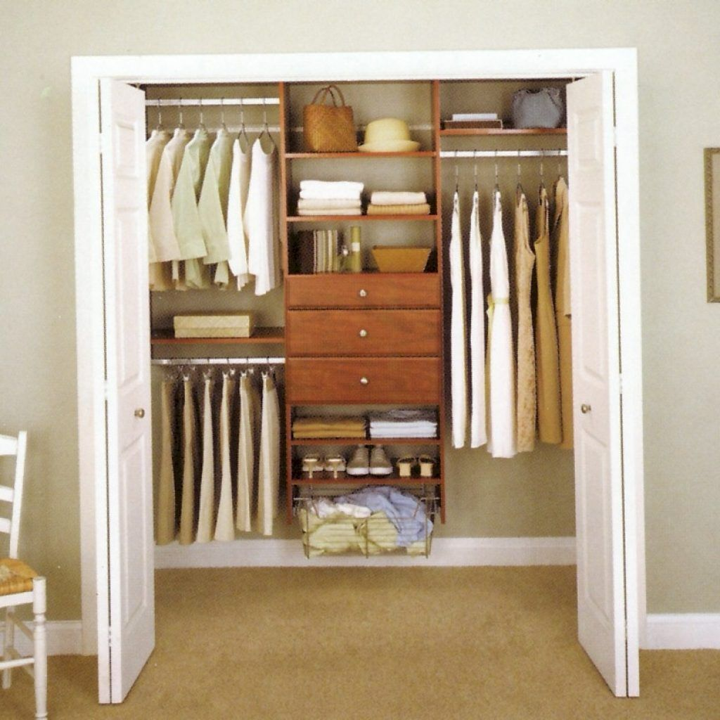 Organizing A Small Closet With Sliding Doors Future Love Nest