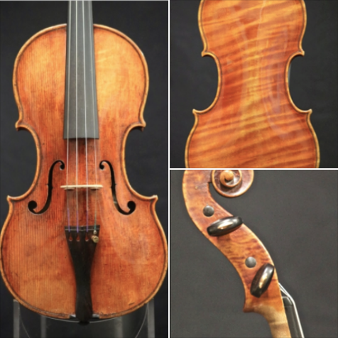 This beautiful 1715 Alessandro Gagliano violin has been keeping me ...