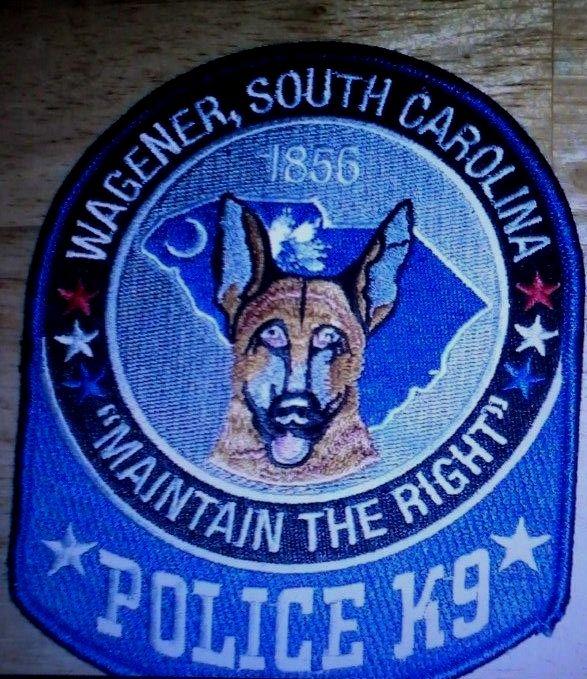 VINTAGE Sheriffs K-9 Corps Canine Dog Sheriff Police Patch NOS