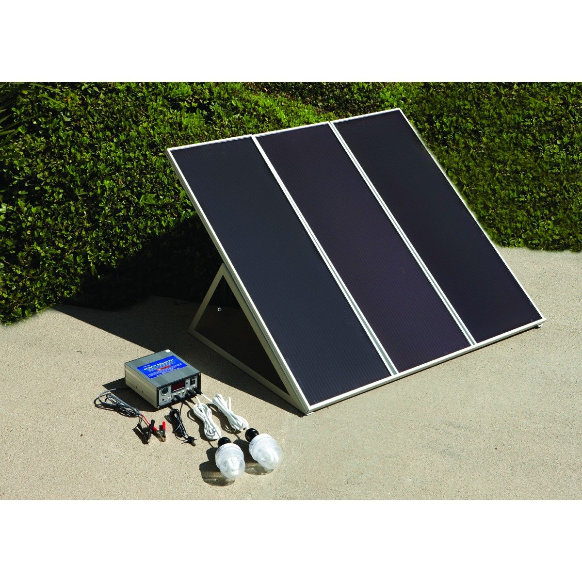 Harbor Freight Tools 45 Watt Solar Panel Kit Is Sometimes Available For 170 Or Less It S 3 Really Durable 15 Solar Panels Diy Solar Panel Solar Panel Kits