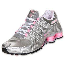 timeless design a9069 e4d0d Women s Nike Shox NZ EU Running Shoes   FinishLine.com   Cool  Grey Polarized Pink