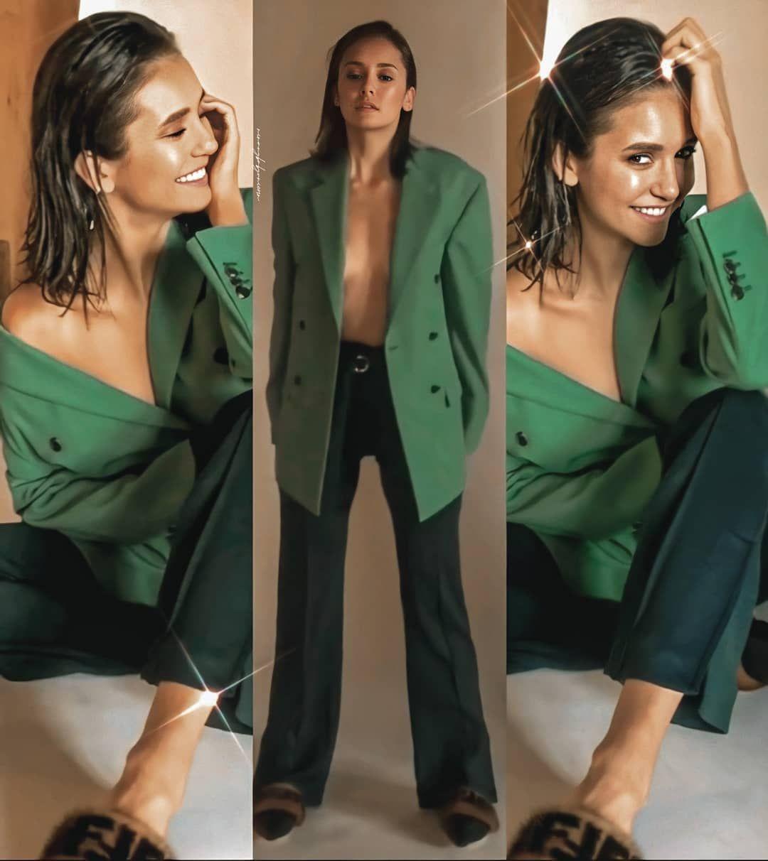 "Nina Dobrev| Nadja on Instagram: ""Bts of Byrdie Beauty photoshoot 2018  #ninadobrev"" -   13 beauty Photoshoot bts ideas"