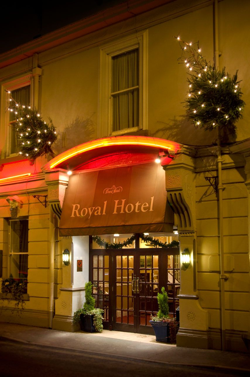 Christmas at The Royal Hotel http://www.brend-hotels.co.uk/theroyal/#.U5mNWhYQh5g