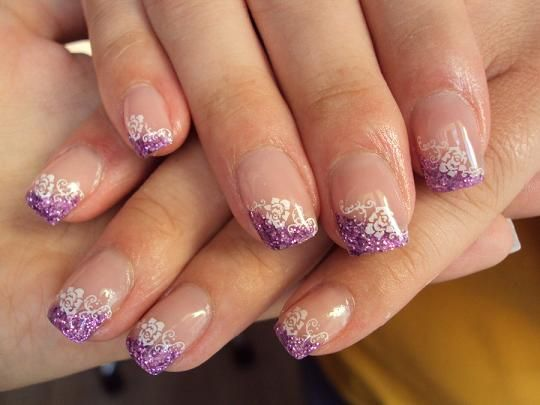 Gel nail art purple nails art picture pinterest gel nail art nails designs ideas for gel nails prinsesfo Choice Image