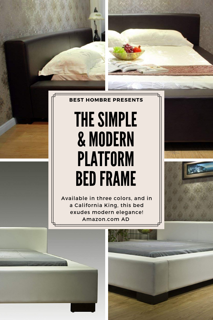 The Simple Modern Platform Bed Frame Amazon Com Ad Available In