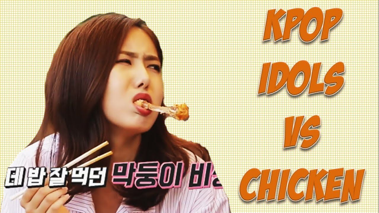 Kpop Idols Vs Chicken Youtube