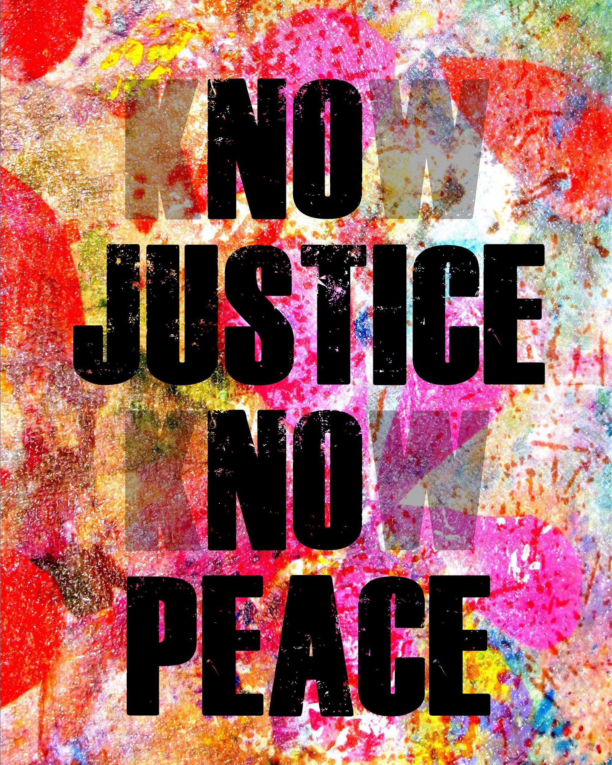 No Justice No Peace Digital Art Art Digital Art Mural