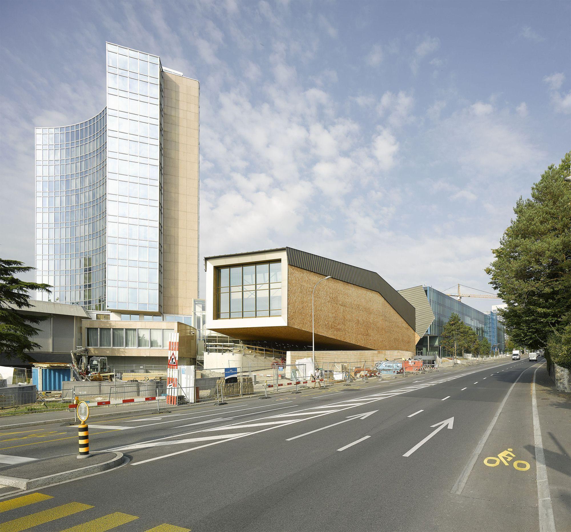 Galería - Sala de conferencias de la OMPI / Behnisch Architekten - 6