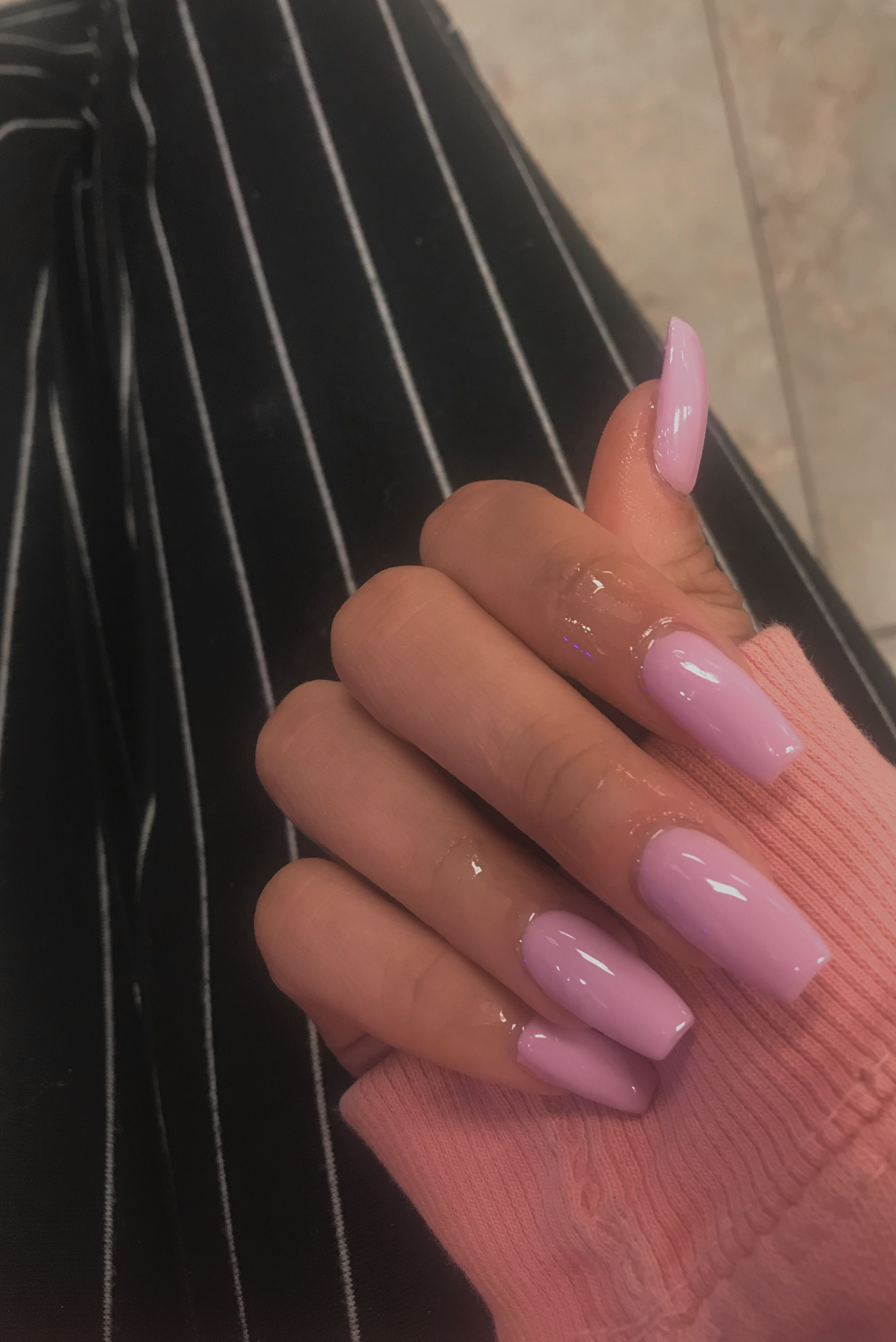 Acrylic Nails Coffin Pink Aesthetic Girly Girly Acrylic Nails Birthday Nails Nails