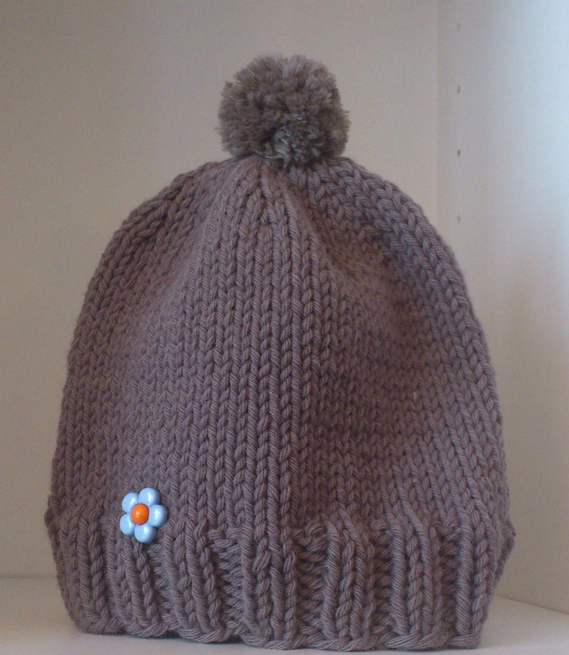 Bonnet enfant - aiguilles 5,5   hats   Knitting, Mittens, Beanie hats 43a3a3b17c4