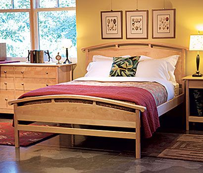 Spruce Up Your House With Pompanoosuc Mills S Handcrafted Furniture And Their Celebrate Summer Through Wood Bedroom