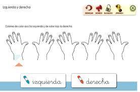 Resultado De Imagen Para Manos Derecha Izquierda Para Colorear Actividades Para Primaria Actividades Para Preescolar Actividades Escolares