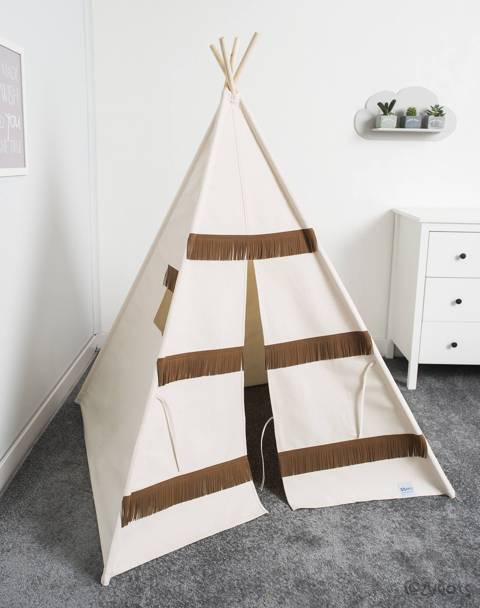 Indian teepee, kids play tent, tipi, tente indienne, tente de teepee ...