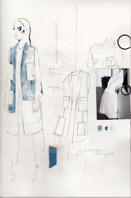 Fashion Sketchbook - fashion design sketches; tailoring development; fashion drawings; fashion portfolio // Alexandra Baldwin