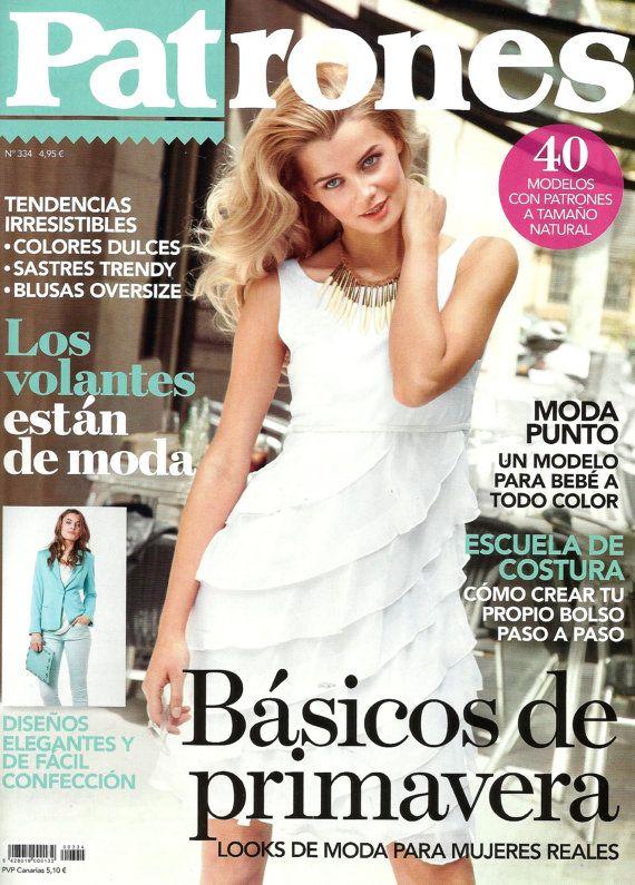 Patrones magazine 334 spring basics | Patrones Magazine | Pinterest ...