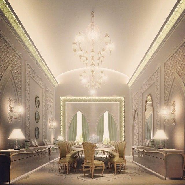 Arabic Design Dining Room