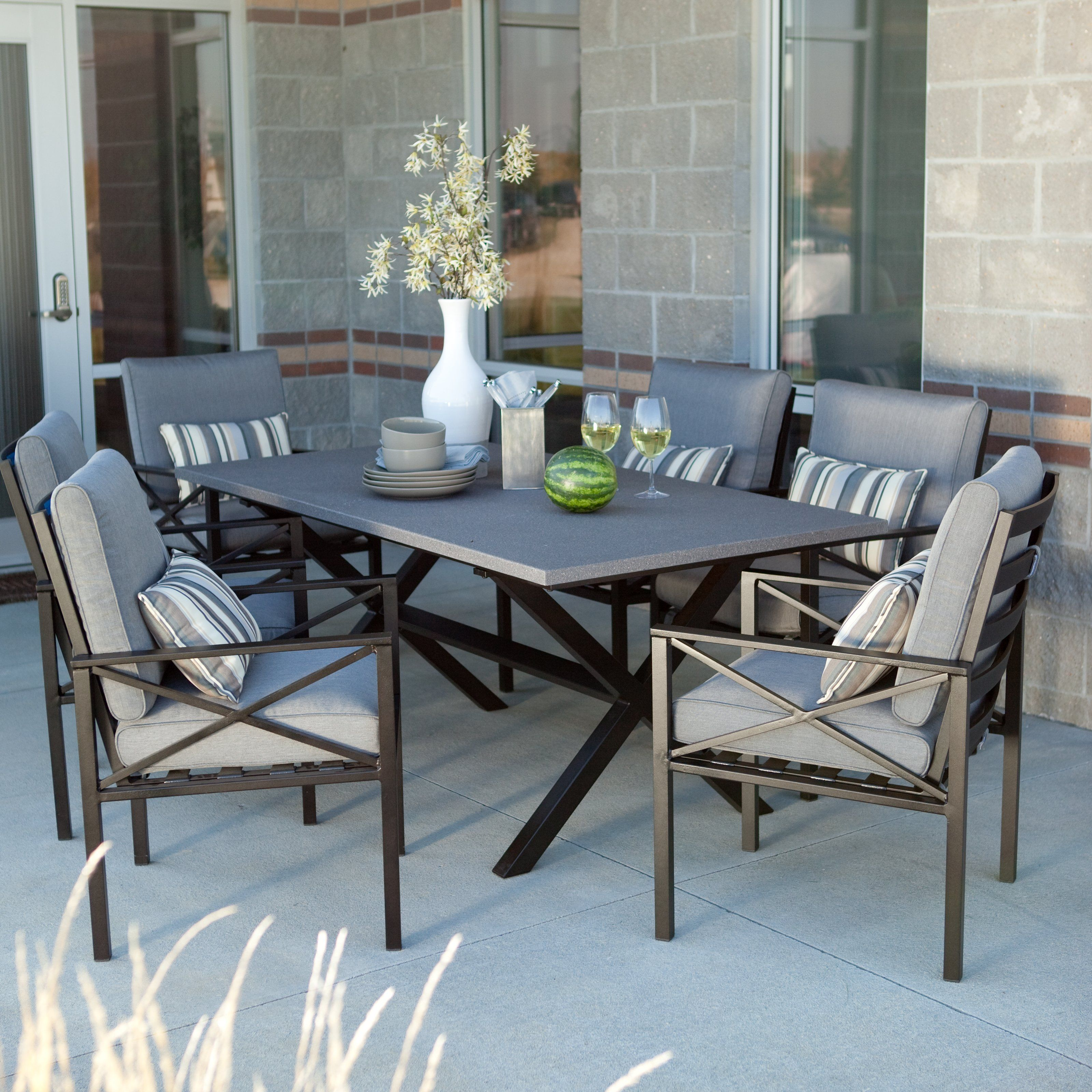 Have to have it. Madison Outdoor Dining Set - Seats 6 $1445.01
