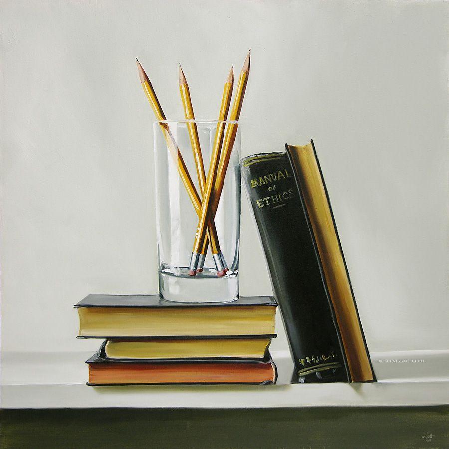 гузкой картинки с книжками и карандашами второй