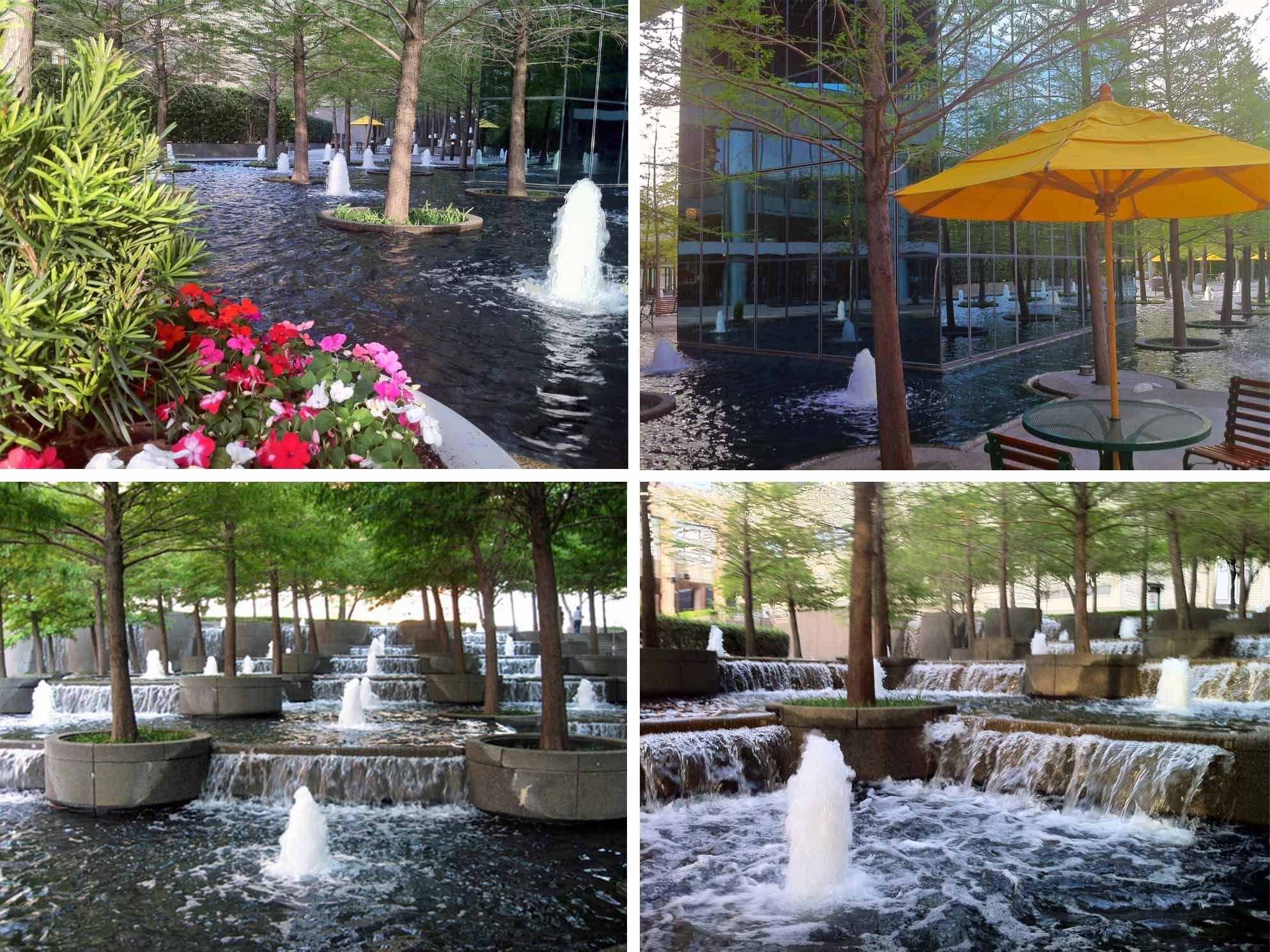 Water fountains dallas - Fountain Place Dallas Www Fountainsdallas Com