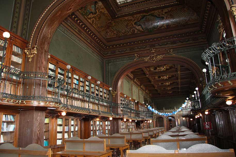 26 De Las Más Extraordinarias Bibliotecas Del Mundo Cultura Inquieta Arquitectura De Bibliotecas Biblioteca Biblioteca Antigua