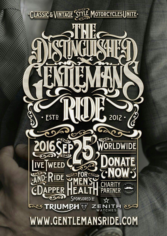 https://www.gentlemansride.com/rider/darthdalek #dgr2016 #ridedapper #gentlemansride