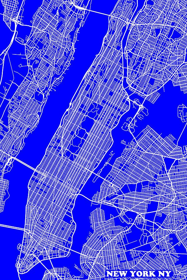 New york city map streets maps pinterest city maps city new york city map streets malvernweather Gallery