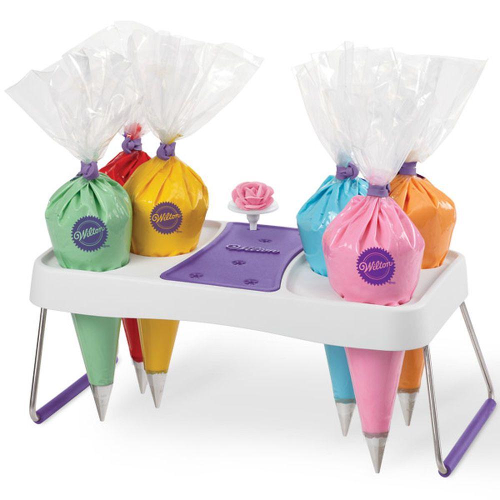 Cake Decorating Icing Bag Stand 6 Cavity Wilton Cake Decorating Cake Decorating Supplies Cake Decorating Icing