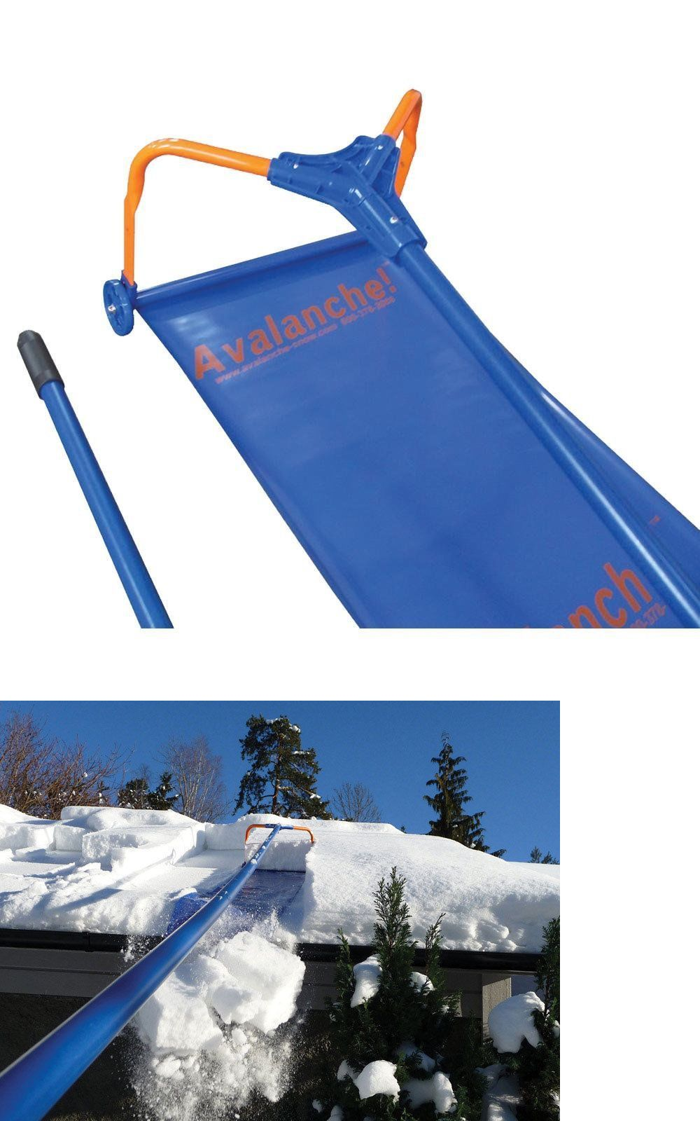 Avalanche Roof Rake Snow Removal Systems