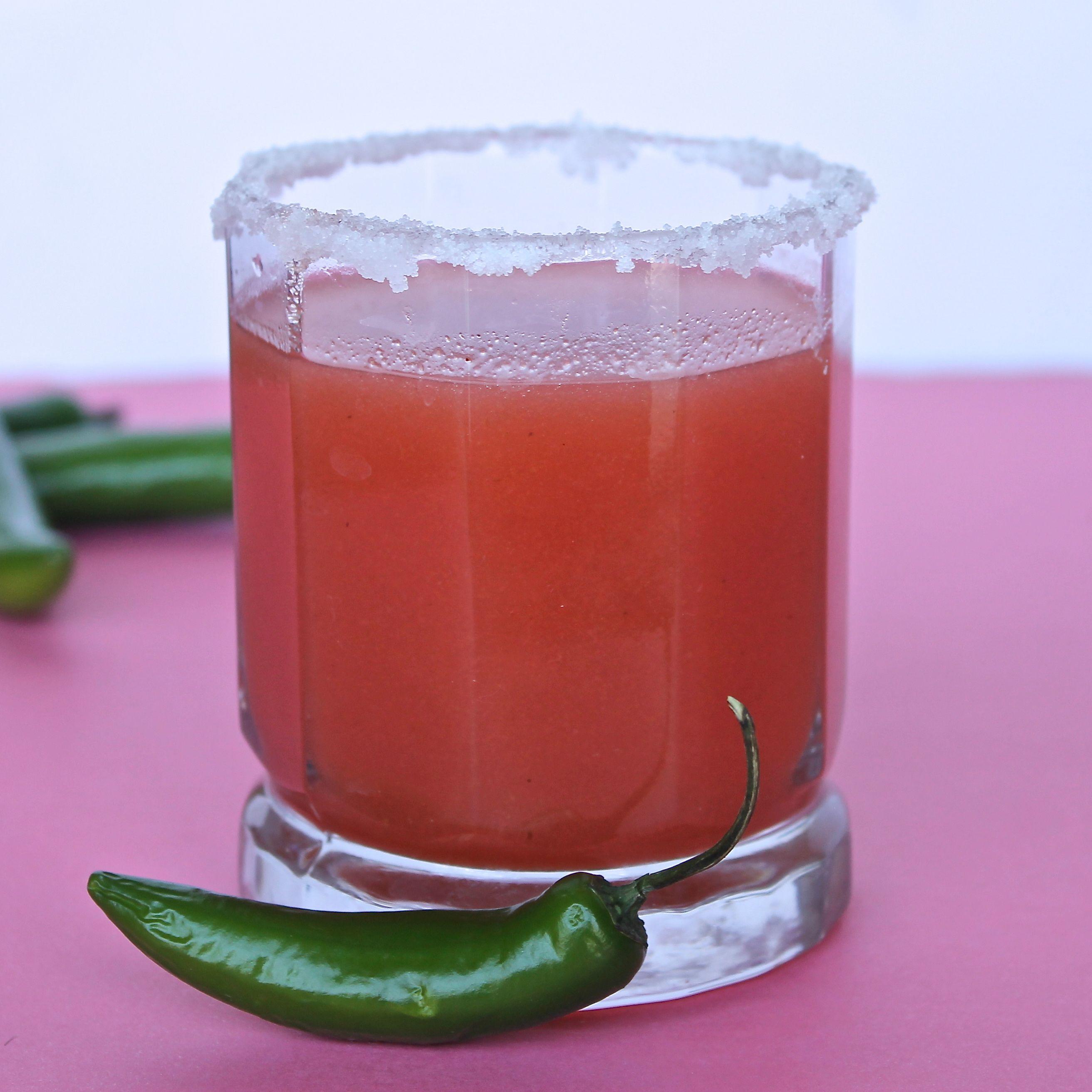 Spicy Jalapeno Guava Margarita Lorimer Street Kitchen Recipe Guava Margarita Jalepeno Margarita Recipe Guava Smoothie