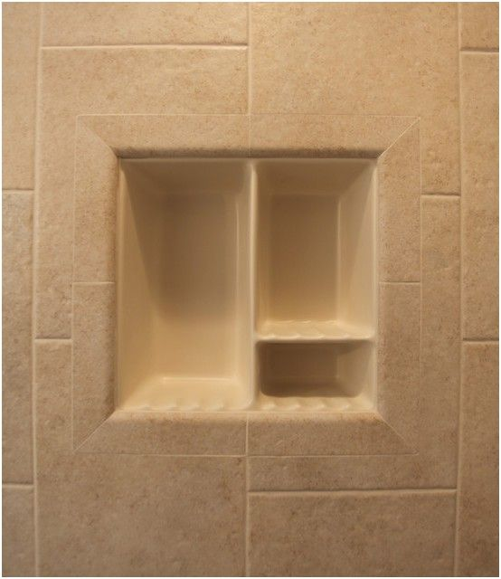 Awesome Inspirational Recessed Bathroom Tile Niches