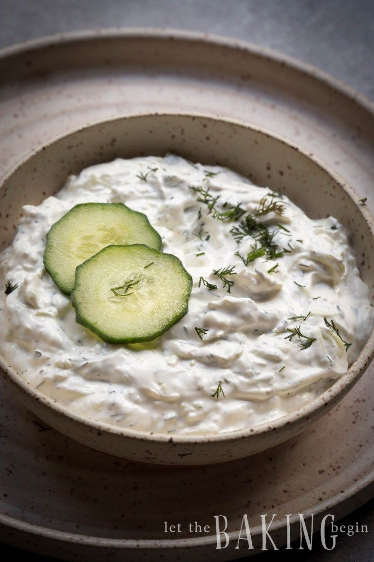 This Quick Tzatziki Sauce Can Be Made In Minutes It S Healthy And Full Of Protein Thanks To Greek Tzatziki Sauce Recipe Tzatziki Sauce Homemade Tzatziki Sauce