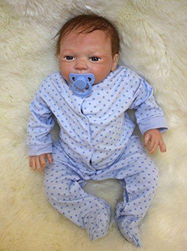 Doll18/'/' Reborn Bambole Neonatale Realistico Silicone Fatto A Mano Regalo Natale