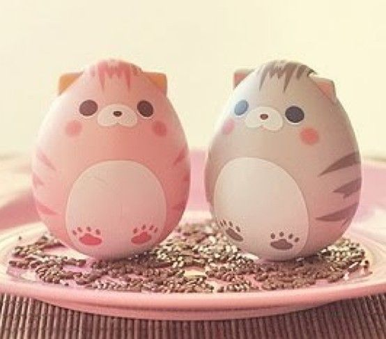 Pascua Ideas para los niños Pinterest Huevos decorados - huevos decorados