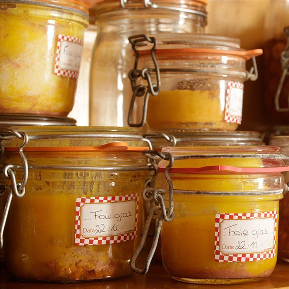 Faire son foie gras en conserves st rilis s dans des bocaux de verre vos foies gras se - Sterilisation plats cuisines bocaux ...