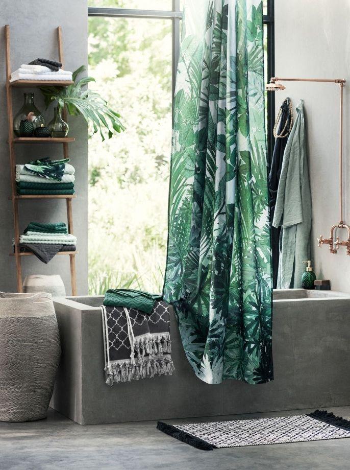 D co tropicale la tendance exotique envahit votre int rieur d coration et design salle de - Salle de bain tropicale ...