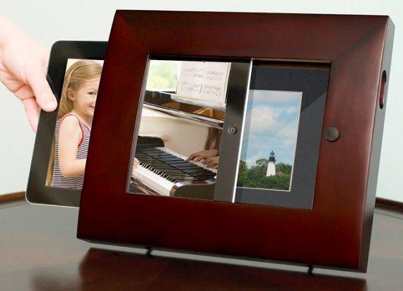 Photo Frame Docking Station For Ipad Stuff I Wish I Thought Of