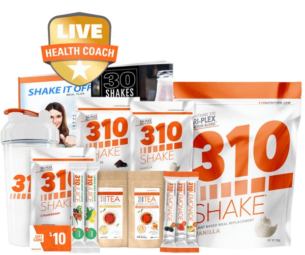 310 Nutrition Starter Kit 9 No Commitment 310 Nutrition Starter Kit Plant Based Protein Shake Diet