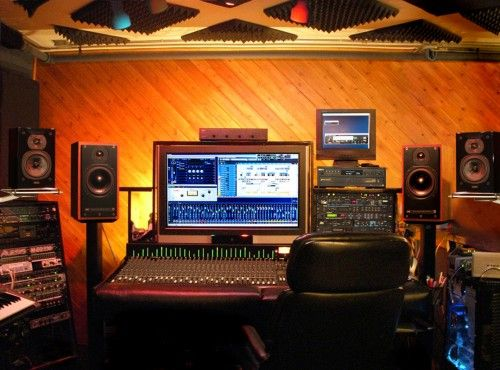 Great Lightinh And Wood Interior Recording Studio Control Room Design 31 Furniture Designs In Home 2014 Gallery