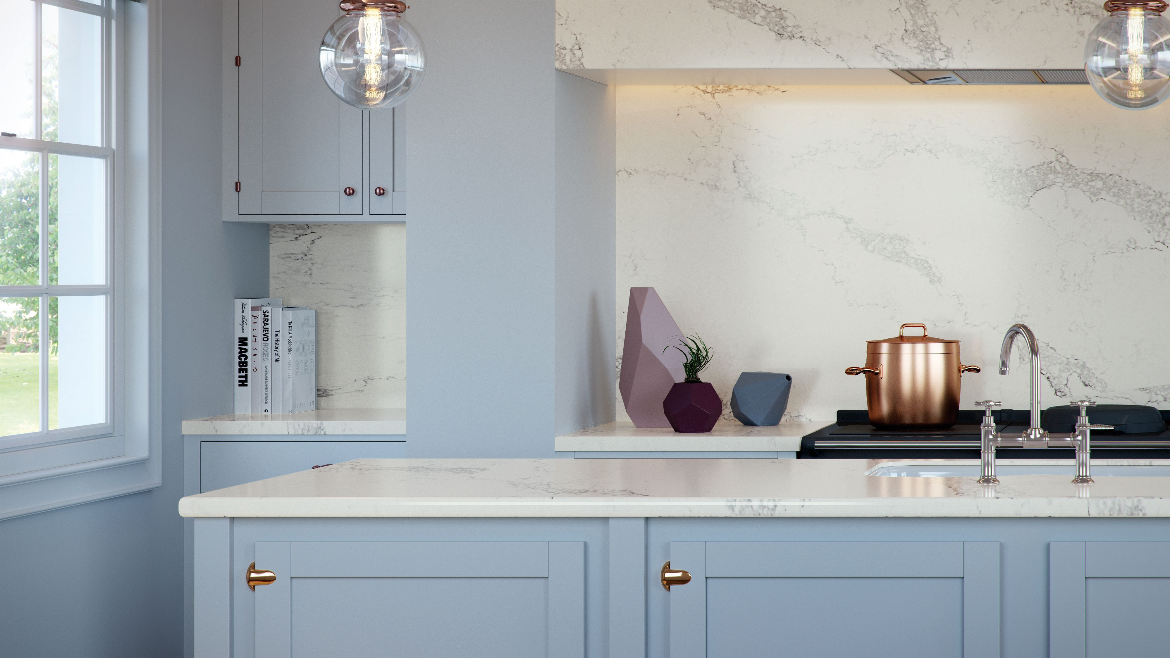 The Caesarstone Classico collection is a quartz surface that will ...