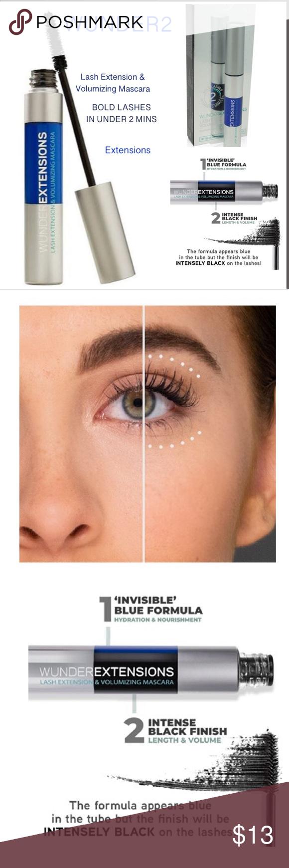 284c68675e1 WUNDER2 Lash Extension & Volumizing Mascara New Authentic Mascara combines  two formulas in the same tube