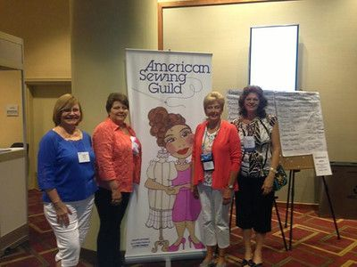 Chapter Members pose for a photo at the ASG National Conference in Arlington, VA