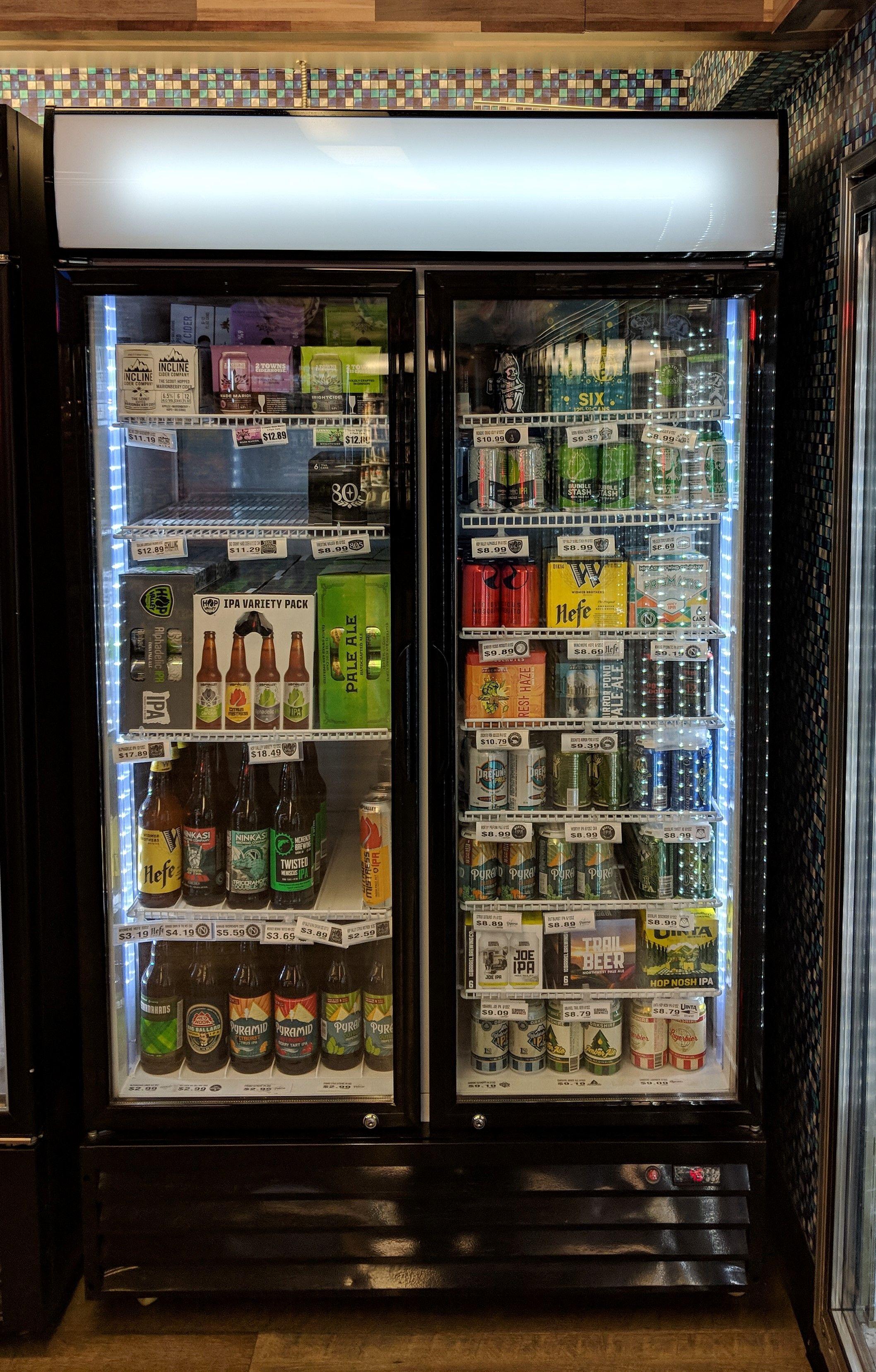 Upright Display Merchandiser Beer Refrigerator Wine Room
