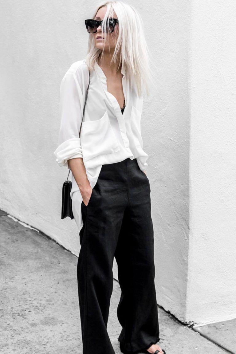minimalist fashion tips elevated basics with images on extraordinary clever minimalist wardrobe ideas id=52893