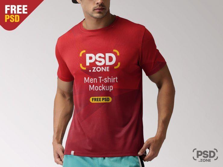 Download T Shirt Male Free Psd Mockup Shirt Mockup Mockup Free Psd Tshirt Mockup