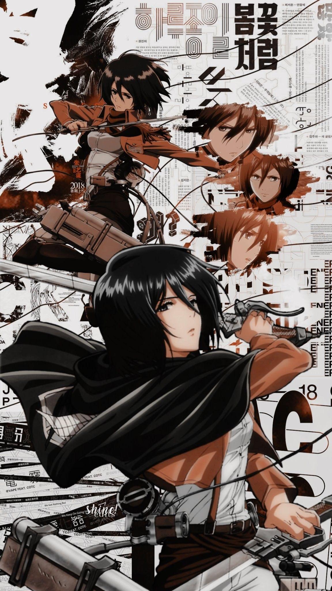 Mikasa Cksc Shingeki No Kyojin Shine Dlts Ontite R In 2020 Titans Anime Attack On Titan Fanart Attack On Titan Anime